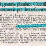 Il Tirreno, 10 Maggio 1997
