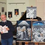 Il pittore Paolo Italia a MusicArte 2017