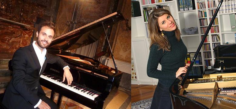 Davide Tura e Francesca Cesaretti